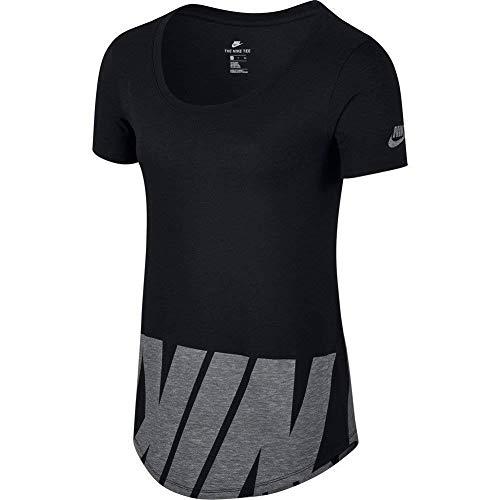 Nike T-Shirt Sportswear Advance 15 Nero/Grigio Formato: XS (X-Small)