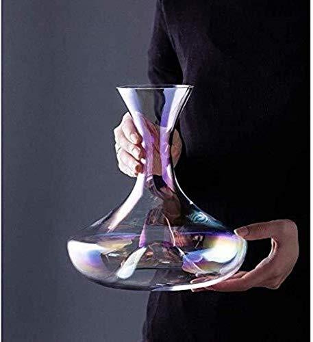 Skull Glass Vino Decantador de vinos y gafas Conjunto de vinos Accesorios de decantación de vinos Dispensador de vidrio de alto borosilicato Whisky Brandy Aeroator Tinto Vino CARAFE Regalos para el ho