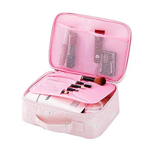 Agolaty Sac de Voyage, cosmétiques Portables étanches, Rangement d'Articles de Toilette pour Femmes Alpaga Rose, Women's, Pink, M