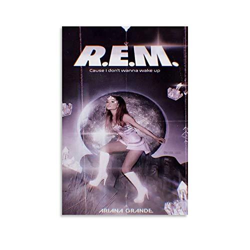 Ariana Grande Rem Parfüm-Poster, dekoratives Gemälde, Leinwand, Wandkunst, Wohnzimmer, Poster, Schlafzimmer, Gemälde, 60 x 90 cm