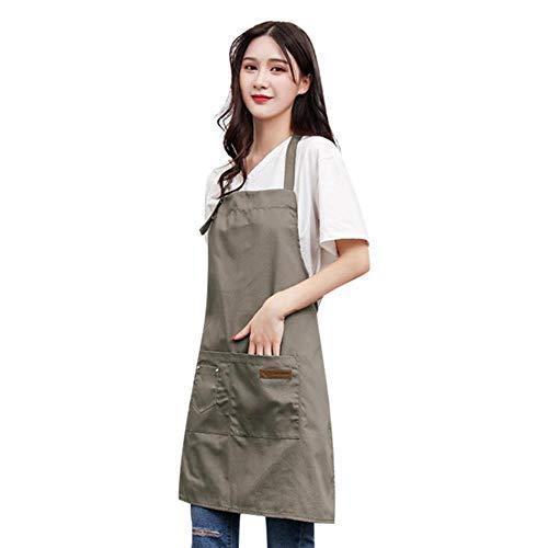 Oiuytghjkl schort, van linnen, voor koken, keuken, restaurant, koken, grill, schort
