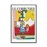 WJWGP Le Corbusier Poster BerüHmte Ausstellung Poster Le