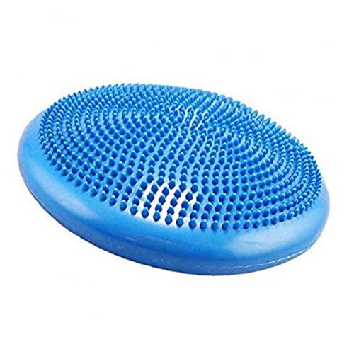 Screst Placa De Equilibrio De La Estabilidad Inflable del Ejercicio del Cojín del Equilibrio del Yoga con La Bomba De Mano Azul