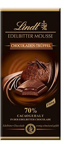 Lindt Edelbitter Mousse Chocoladen-Trüffel Tafel, 70% Cacaogehalt in der Chocolade, 13er Pack (13 x 150 g)