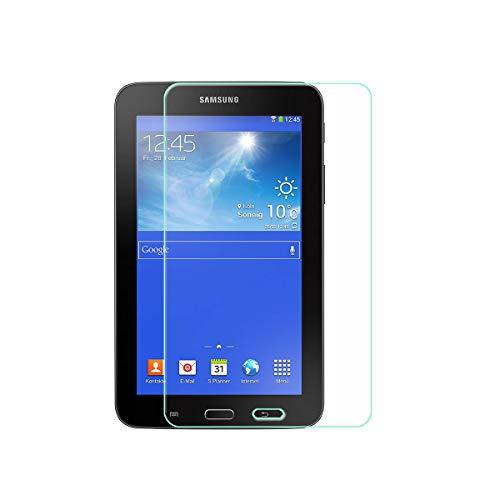 """szjckj Protector de Pantalla para Samsung Galaxy Tab 3 Lite (7,0"""") Tablet, Cristal Vidrio Templado Protector [HD 0.26mm] [9H Dureza] [Anti-Aceite] [A Prueba de rayones]"""
