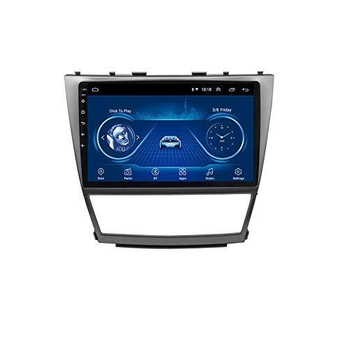 LYHY Car Stereo Car Radio 10.1 Pulgadas Android 8.1 Car GPS Navigation para Toyota Camry (2007-2011) con Video/Bluetooth/TV/WiFi/USB/Radio (RAM 2G + ROM 32G)