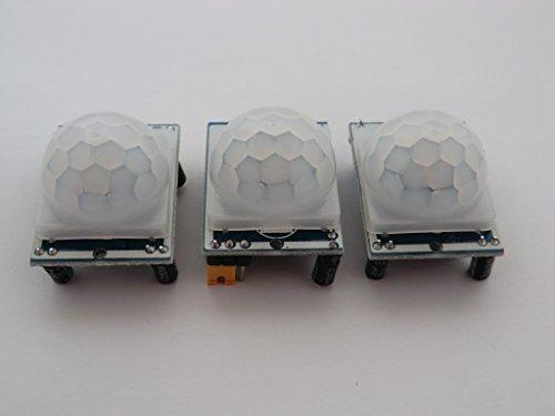 3De HC–SR501PIR Detector de movimiento Module para Raspberry Pi o Arduino. viene...