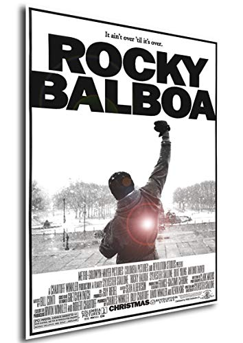 Instabuy Poster Rocky Balboa Vintage Movie Poster - A3 (42x30 cm)