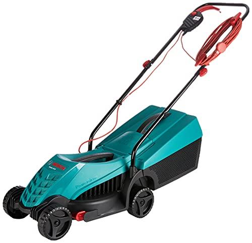 Bosch 0600885B70 Rotak 32R Electric Lawnmower (1200 W, Cutting width: 32 cm, In carton packaging), Green, 2.56 in*13.98 in*2.56 in