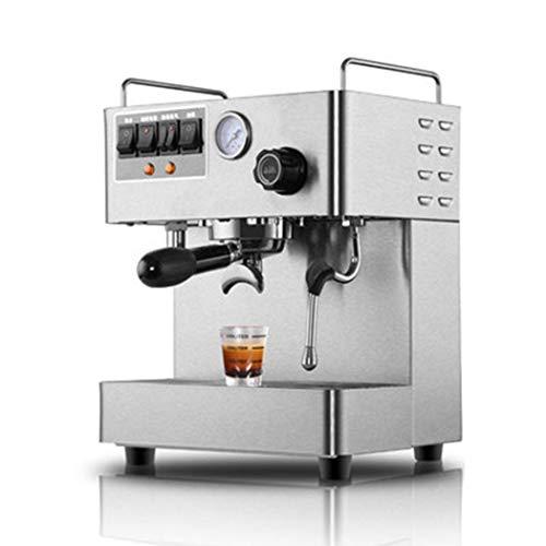 QHYY espressomachine, espressomachine, semi-automatische koffiezetapparaat, hogedruk-stoomschuimmelk