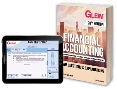 Financial Accounting: Exam Questions and Explanations with Access Code 20th edition