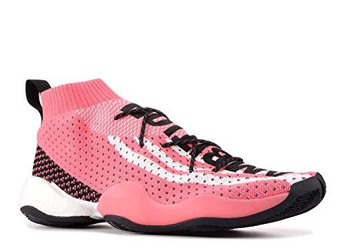 adidas Herren Crazy BYW LVL x Pharrell Williams Zapatos de Balonmano Rosa, 42