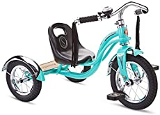 Schwinn Roadster Kids Tricycle, Classic Tricycle, Teal, One Size