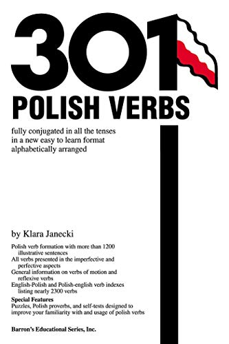 301 Polish Verbs (201/301 Verbs Series)