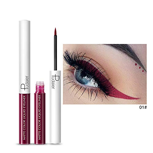 Momoxi Lidschatten,Augen Make-up Augenbrauenstift Metallic Shiny Smoky Eyes Lidschatten Wasserdichter Glitzer Eyeliner