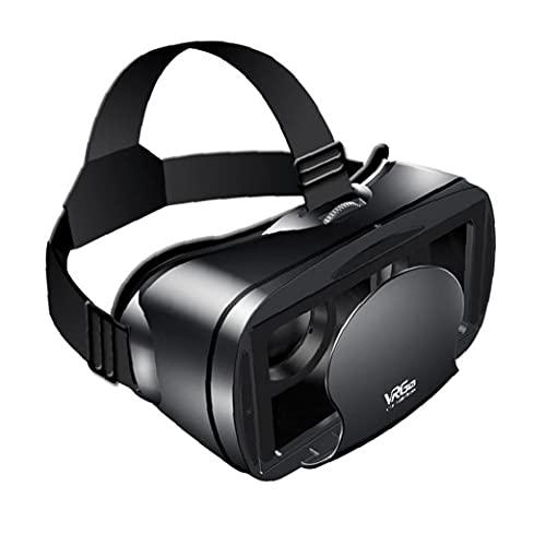Pantalla VR Auricular Gafas 3D Full Visual Amplio ángulo de Realidad Virtual Pro para VRG 5-7inch Películas Juegos de teléfonos Inteligentes, sostenedor del teléfono móvil