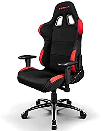 Drift DR100 - DR100BR - Silla Gaming, Color Negro/Rojo 🔥