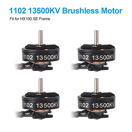 BETAFPV 4pcs 1102 13500KV Brushless Motors 1-2S FPV Motor for Brushless Racing Whoop Drone Like HX100 SE Toothpick Quadcopter Beta75 Pro 2