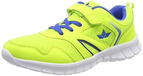 Lico Herren Skip VS Sneaker, Gelb (Lemon/Blau), 36 EU