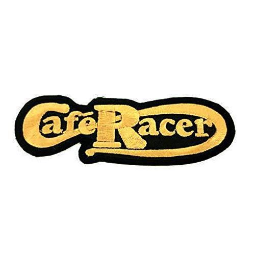 losparches Parche bordado termoadhesivo CAFE RACER CLASSIC 10,3 cm x 3cm