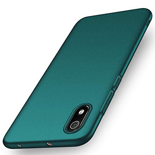 Anccer Kompatibel mit Xiaomi Redmi 7A Hülle, [Serie Matte] Elastische Schockabsorption & Ultra Thin Design für Xiaomi Redmi 7A (Kies Grün)