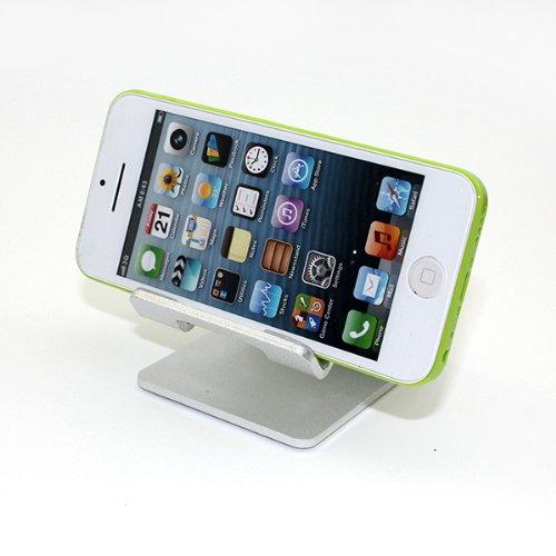 Huntgold universale supporto da scrivania per cellulari FR tablet i Pad mini retina Nexus Galaxy Phone (argento)