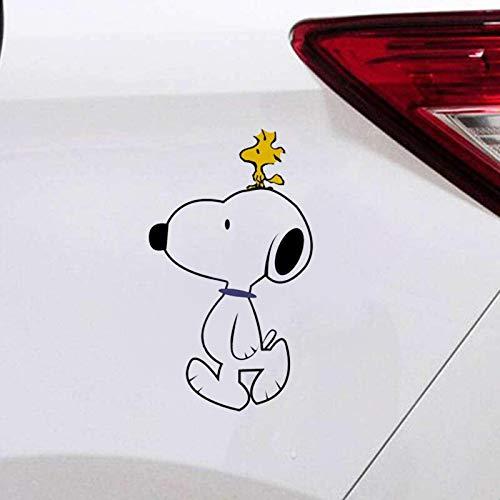 Snoopy Aufkleber Aufkleber Cartoon Hund Comic Snoopy Und Woodstock Für Auto/Fenster/Tür/Laptop