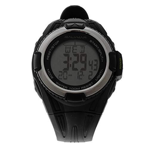 SALVIMAR 8000 Reloj de Buceo Unisex, Color Negro