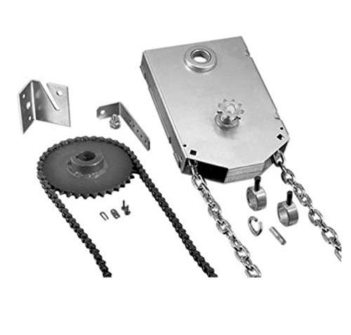 Fantastic Deal! Garage Door Chain Hoist - JR Jackshaft - 4:1 Reduced Drive 1 Shaft Mount