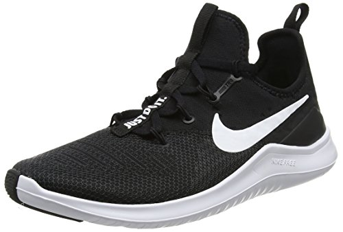 Nike Womens Free TR 8 Running Shoes Black/White 10 B(M) US