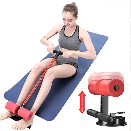 Sit-up Bar Met Weerstandsband, Been, Arm Toner/Beentrainer Verstelbare Sit-up Apparatuur, Buik Fitnessapparatuur Spiertraining Oefenmachine Perfect Voor Push-ups Sit-ups Spiertraining