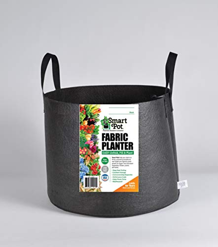 Smart Pots RC20H 14020 Fabric Pot, 20-Gal, Black