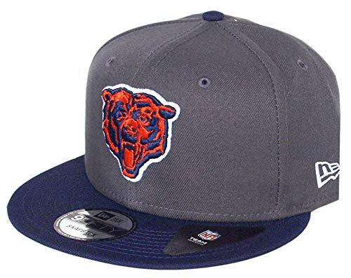 New Era Chicago Bears Graphite NFL Snapback Cap 9fifty 950 OSFA Basecap Limited Edition