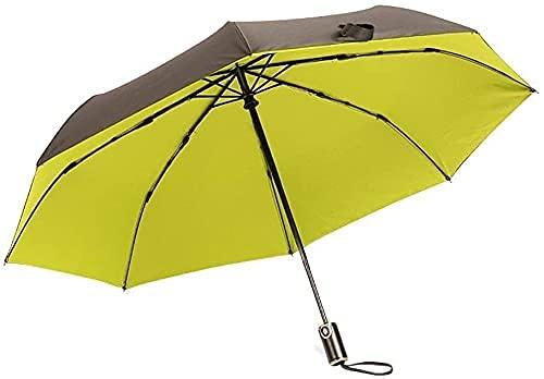 Windproof Reise Regenschirm Kleiner und tragbarer Regenschirm für Schutz von Wind Umberllas Automatische Faltschirme für Frauen Kompakte Sonnenschirm mit 95% UV. Schutz für...