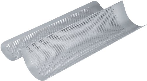 Chicago Metallic Commercial II Non-Stick Perforated French Bread Pan -