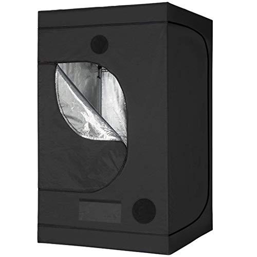 GRT Tenda idroponica per Coltivazione, idro, Resistente alla Luce e Impermeabile, con Finestra di osservazione, Borsa per Attrezzi per piantine di Piante da Interni (120x120x200CM)