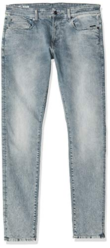 G-STAR RAW Herren Skinny Jeans Revend, Faded Industrial Grey 9882-B336, 42W / 36L