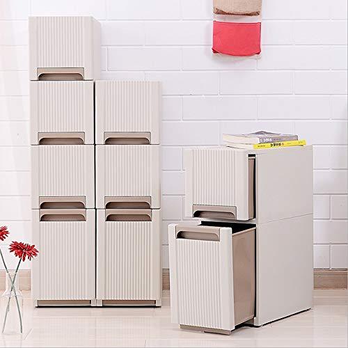 Feixunfan ladekast, opbergkast voor slaapkamer, badkamer, hoge kast, eenheid, planken, wit, voor badkamer en thuis