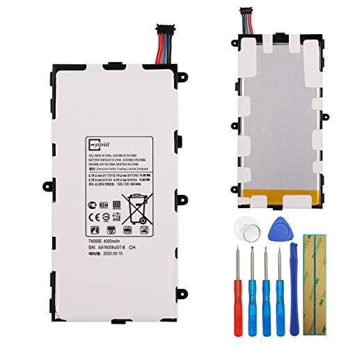 E-yiiviil Neuer Ersatzakku T4000E Kompatibel mit Samsung Galaxy Tab A 7.0 2016 4G LTE SM-T210 SM-T210R Galaxy Tab 3 7.0 SM-T285M