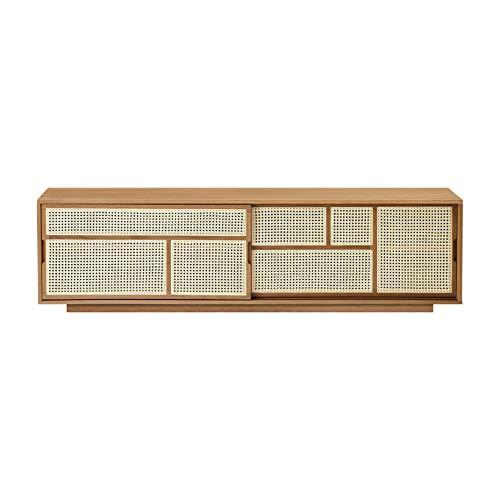 Design House Stockholm Air Sideboard niedrig, Eiche BxHxT 180x50x38cm