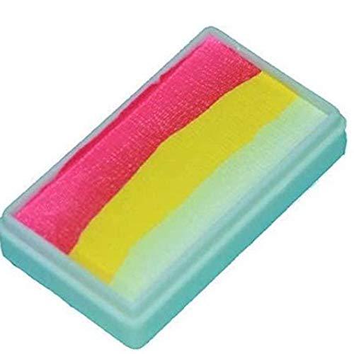 Price comparison product image Tag Body Art,  1-stroke Tropical Split Cake,  30 Gr,  Neon Pink