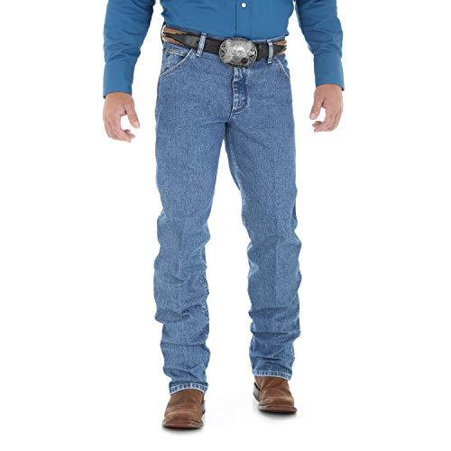 Wrangler Herren Premium Performance Cowboy Schnitt Regular Fit Jeans - Blau - 34W / 32L