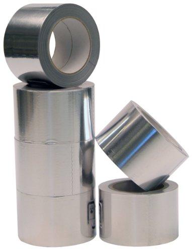 Aluminium Klebeband 100mmx50m 1 Rolle Profi-Qualität Isolierband Abdichtband Aluminium-Klebeband
