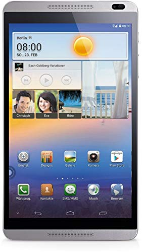 HUAWEI MediaPad M1 8.0 - tablet - Android 4.2 (Jelly Bean) - 16 GB - 8' - 3G, 4G (Renewed)