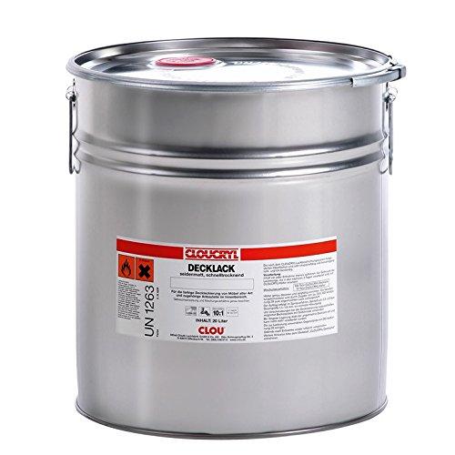 CLOU CLOUCRYL Decklack RAL 9010 reinweiß 20 Liter