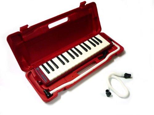 HOHNER/STUDENT32 RED+HOHNER純正STUDENT32用卓奏用ホースのセット ホーナー メロディカ予備ホースセット