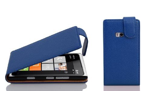 Cadorabo Funda para Nokia Lumia 900 in Azul Real - Cubierta Proteccíon...