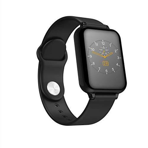 Gelrova Pulsera Actividad Impermeable IP67 Pulsera Inteligente con Pulsómetro Reloj Inteligente para Deporte Podómetro Pulsera Deporte para Android y iOS Teléfono móvil para Hombres Mujeres Niños