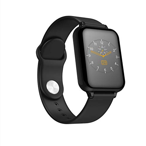 Gelrova Fitness Tracker Orologio Fitness Braccialetto Pressione Sanguigna Cardiofrequenzimetro da Polso Impermeabile IP67 Donna Uomo Bambini Smartwatch Contapassi Pedometro per iPhone Android iOS
