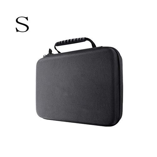 Yushu Estuche de transporte duro portátil bolsa de almacenamiento para maleta de cámara de acción GO-PRO 360 R, protege eficazmente la cámara de golpes y arañazos